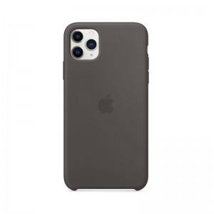 Apple Silikon Case iPhone 11 Pro Max (schwarz)