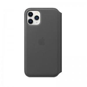 Apple Leder Folio iPhone 11 Pro (schwarz)