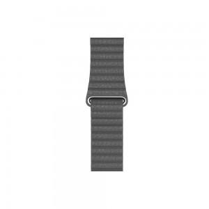 Apple Loop Lederarmband für Watch 44 mm (schwarz) L