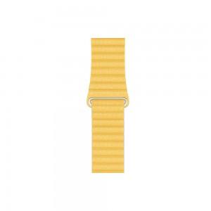 Apple Loop Lederarmband für Watch 44 mm (sonnengelb) M