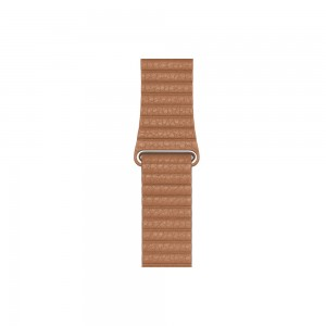 Apple Loop Lederarmband für Watch 44 mm (sattelbraun) M