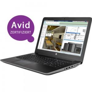 HP ZBook 15 G4 i7-7700HQ / 2x8GB / 256Turbo+1TB_SSD / M1200M / Win10PRO