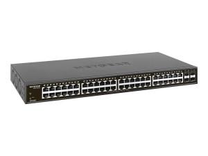 NETGEAR Switch 48G 4SFP 48x10/100/1000 4xSFP smart managed