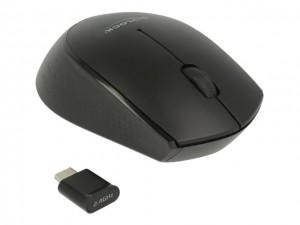 Delock Optische 3-Tasten Mini Maus USB Type-C
