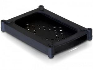 DELOCK Festplatten Silikon Protektor > 6.4cm 2.5 Zoll