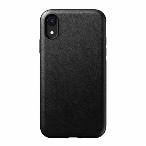 Nomad Case Leather Rugged Black iPhone Xr