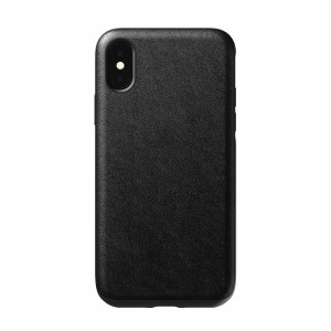 Nomad Case Leather Rugged Black iPhone X / Xs