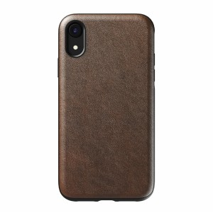 Nomad Case Leather Rugged Rustic Brown iPhone Xr