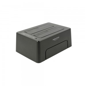 Delock USB3 Dual Dockingstation SATA HDD/SSD mit Klon Funktion