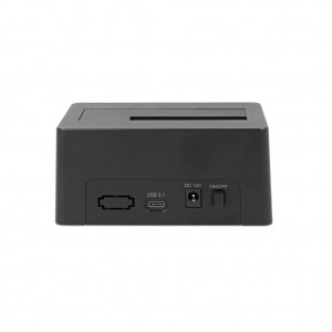 Delock USB Type-C 3.1 Dockingstation für 1 x SATA HDD / SSD