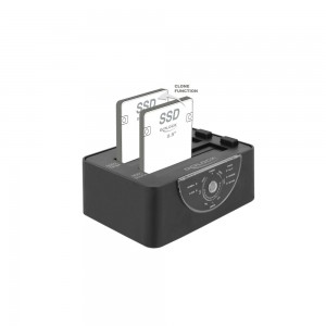 Delock USB3 Dual Dockingstation SATA HDD/SSD mit Klon- und L
