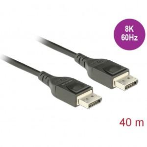 Delock Aktives Optisches Kabel DisplayPort1.4 8K 60Hz 40m