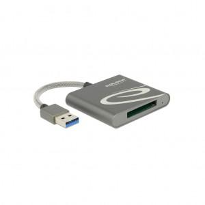 Delock USB 3.0 Card Reader für XQD 2.0 Speicherkarten