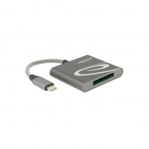 Delock USB-C Card Reader für XQD 2.0 Speicherkarten