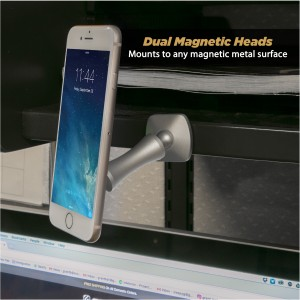 Scosche MAGICMOUNT ELITE Double Pivot Magnetic Space Grey