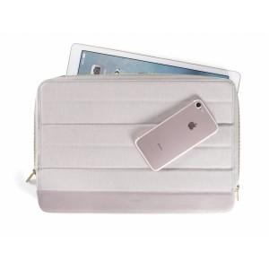 KMP Protective Sleeve MacBook grau rose