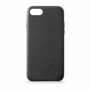 KMP Leather Case iPhone 8 schwarz