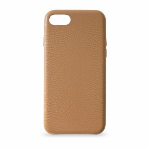 KMP Leather Case iPhone 8 Braun