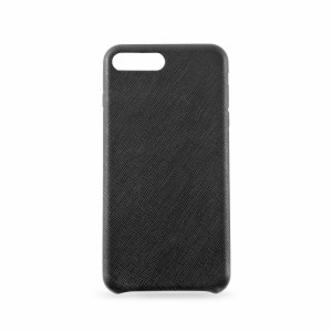 KMP Leather Case iPhone 8+ schwarz