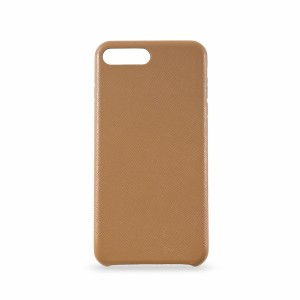 KMP Leather Case iPhone 8+ Braun