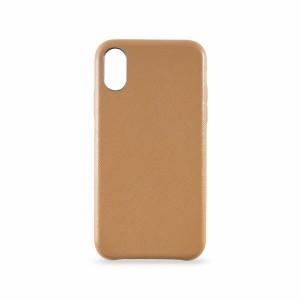 KMP Leather Case iPhone X Braun
