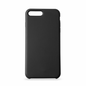 KMP Silicon Case iPhone 8+ schwarz