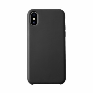 KMP Silicon Case iPhone X schwarz