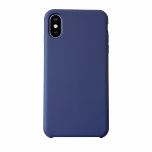 KMP Silicon Case iPhone X Blau