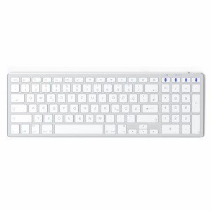 Satechi Aluminum BT Keyboard Slim German silver