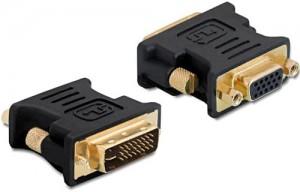 Delock Adapter VGA 15pin Buchse > DVI 24+5 Stecker