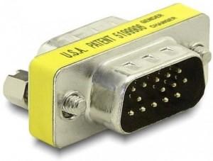 Delock Adapter Gender Changer VGA Stecker/Stecker