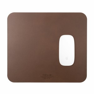 Nomad Mousepad Leather Rustic Brown