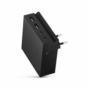 usbepower HIDE PD 57W 5-in-1 wall charger black
