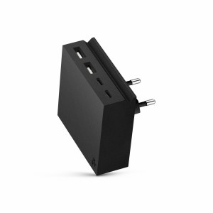 usbepower HIDE Mini+ 27W 4-in-1 wall charger black
