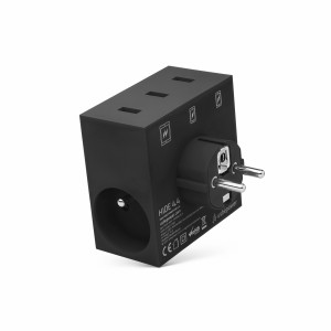 usbepower HIDE 5-in-1 wall charger black