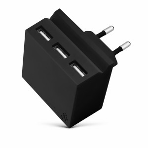 usbepower HIDE Mini 3-in-1 wall- charger black