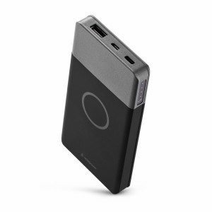 usbepower AIR WIRELESS Powerbank 10000 mAh space grey