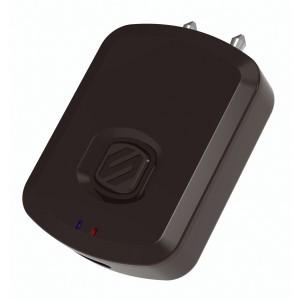 Scosche Flytunes Bluetooth Flugzeug Doppel Adapter schwarz