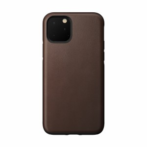 Nomad Case Leather Rugged Rustic Brown iPhone 11 Pro