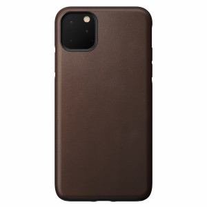 Nomad Case Leather Rugged Rustic Brown iPhone 11 Pro Max