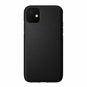 Nomad Case Leather Rugged Waterproof Black iPhone 11