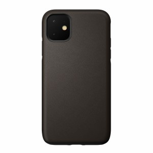 Nomad Case Leather Rugged Waterproof Mocha iPhone 11