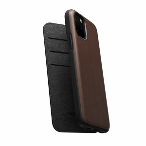 Nomad Folio Leather Rugged Rustic Brown iPhone 11 Pro