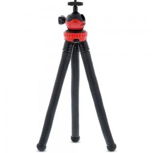 InLine® Multi Grip Flex Mini-Stativ 290mm, flexible Gummierte Füße