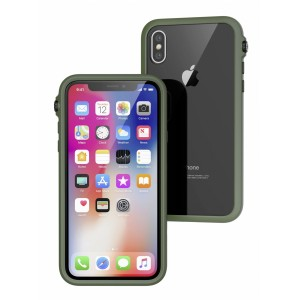Catalyst Impact protection Case for iPhone X Army Green