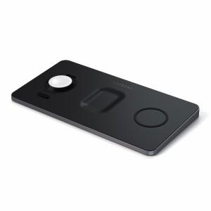 Satechi Trio Wireless Charging Pad black