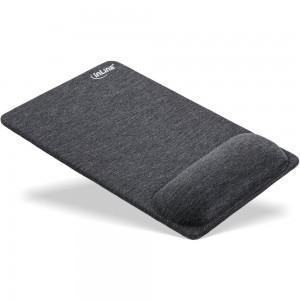 InLine® Mauspad mit Handballenauflage, textil, schwarz