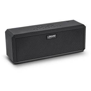 InLine® WOOME 2 - True Wireless Stereo Bluetooth Lautsprecher, schwarz
