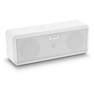 InLine® WOOME 2 - True Wireless Stereo Bluetooth Lautsprecher, weiß