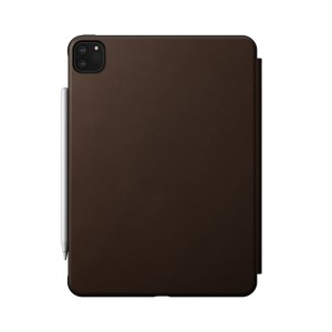 Nomad Rugged Folio iPad Pro 11 inch (2nd Gen) Brown Leather